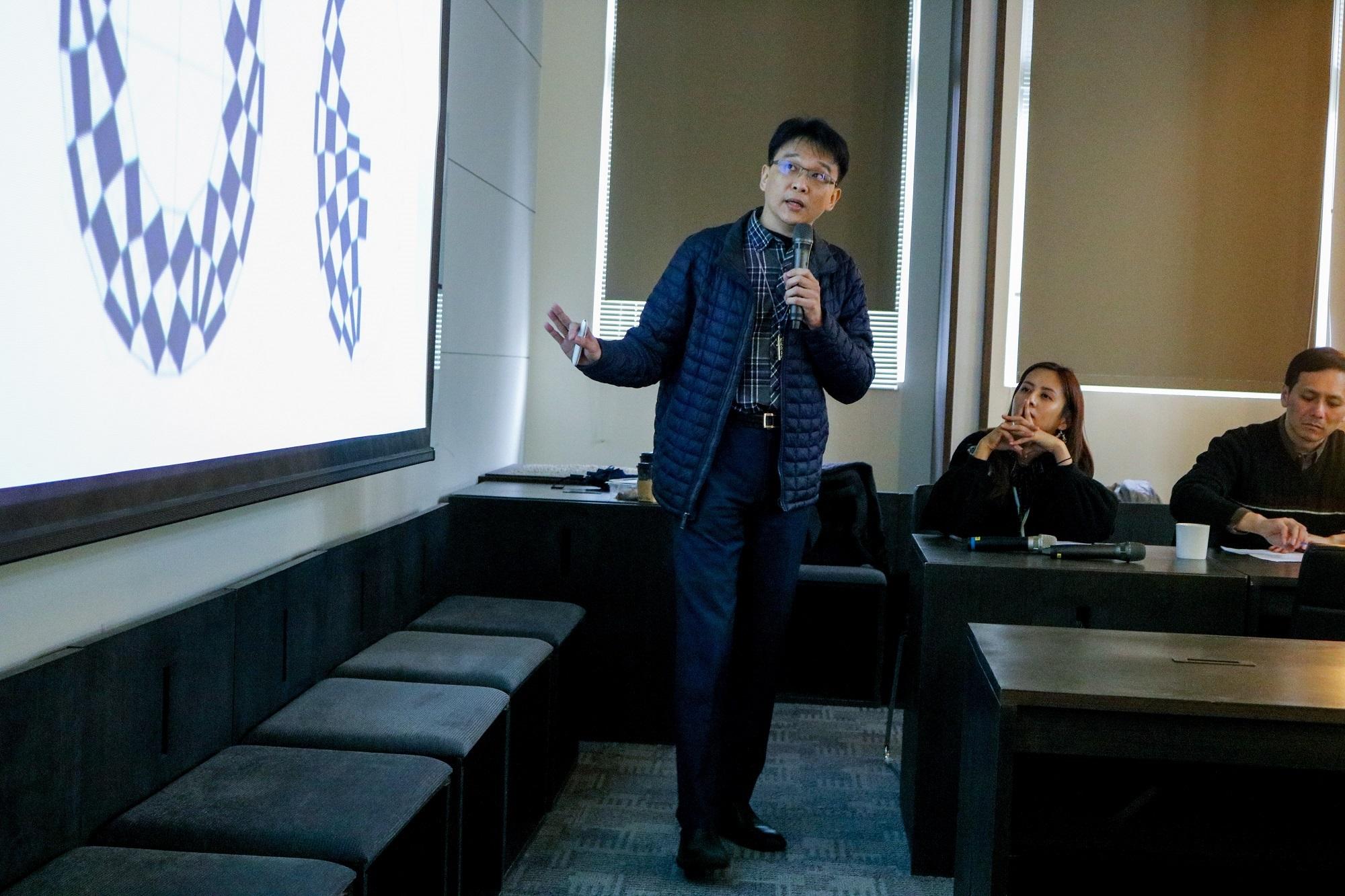 【數學跨域美感教育增能講座】主講人:謝佳叡老師國立臺北教育大學