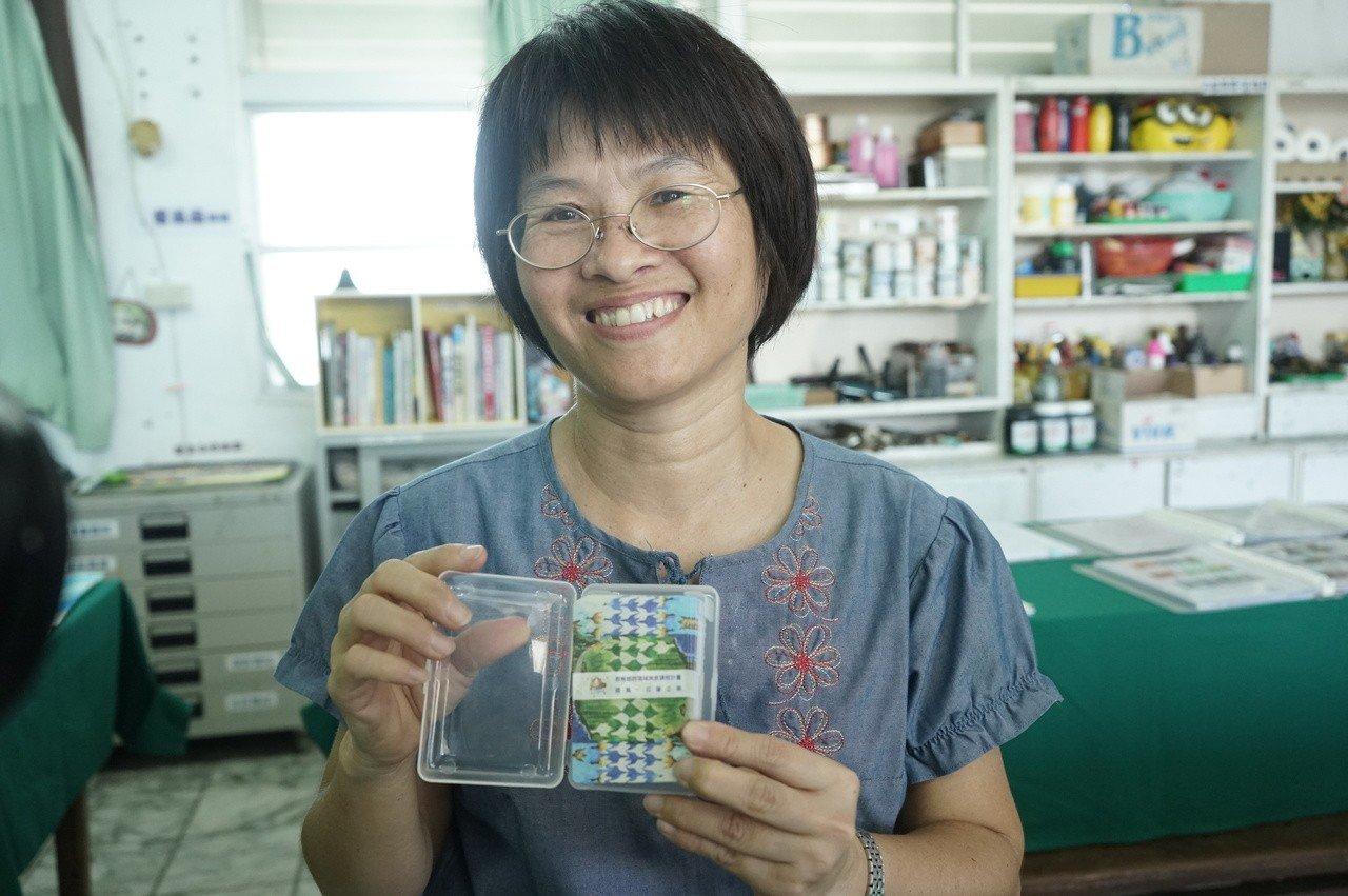 花蓮國風國中美術班老師湯香櫻,是跨領域美感課程的重要推手。記者王燕華/攝影